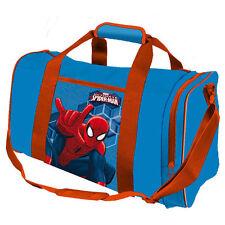 Marvel SPIDERMAN Sport Tasche Sporttasche Kinder Reisetasche Trainingstasche gro