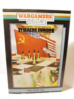 SPECTRUM 48K 128k CASSETTE GAME -- THEATRE  EUROPE -- BY PSS -- 1985