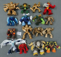 "lot of 16 Gormiti Giochi Preziosi defferent Figures (BY random) 2""-2.5"" #L50"