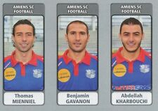 N°505 MIENNIEL - GAVANON - KHARBOUCHI # AMIENS.SC STICKER PANINI FOOT 2012