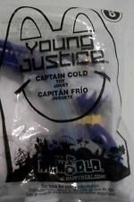 Mcdonald's  Young Justice #8 Captain Cold NEW 2012 ACTION FIGURE WEAPON 4 INCH