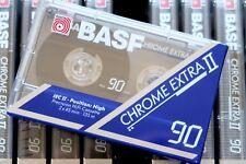 BASF CHROME EXTRA II 90 HIGH BIAS BLANK AUDIO CASSETTE - GERMANY 1991