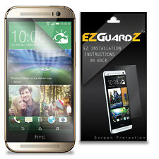 2X EZguardz LCD Screen Protector Skin HD 2X For HTC One M8 Prime (Ultra Clear)