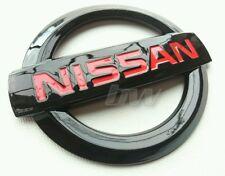 CUSTOM BLACK GLOSS & RED NISSAN BADGE 250Z GTR 370Z 350Z NAVARA