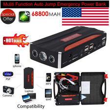 Heavy Duty 68800mAh 4USB Power Portable Car Jump Starter Emergency Charger 12V Q
