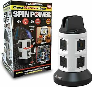 Bell & Howell Spin Power Ultimate Deluxe Charging Station