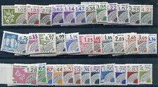 Timbre/Stamp - France -  36  Pré-ob   Neufs **/*  - 1980/88 - TTB - Cote:  45 €