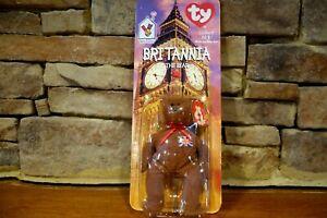 Ronald McDonald House Charities Britannia The Bear Retired Ty Beanie Baby Tag Er
