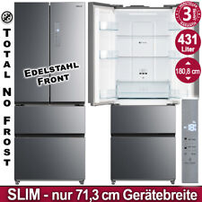 Kühl Gefrierkombination Side French Door NoFrost Edelstahl SBS Kühlschrank NEU