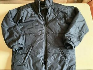 LL Kids by LL Bean boys black Primaloft jacket, 9-10 years