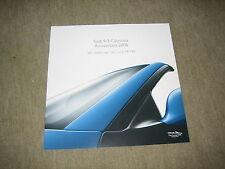 Saab 9-3 93 Cabriolet Anniversary 2006 Prospekt Brochure, 12 Seiten