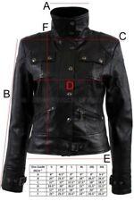 Abrigos y chaquetas de mujer de color principal negro de piel