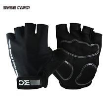 1Pair Microfiber Half Finger Gloves Riding Cycling Racing Glove Fingerless Glove