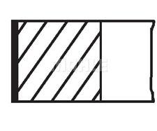 MAHLE ORIGINAL Piston Ring Kit 011 RS 00110 0N0