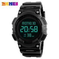 SKMEI 1248 Men Sports Watch Multifunction Alarm Digital LED 50M Waterproof Sport
