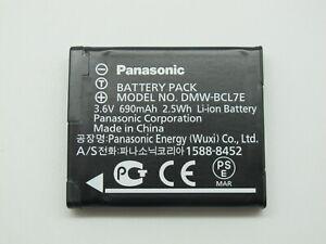 New Original Panasonic DMW-BCL7 Battery for DMC-F5 FH10 FS50 SZ3 SZ8 SZ9 XS1 XS3