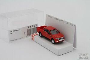 Busch Ford Ranger red No. 52801 - 1:87 - /HS93