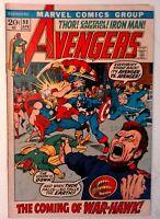 Avengers #98 Marvel 1972 VG/FN Comic Book Key Clint Barton Reverts Goliath