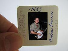 More details for original press photo slide negative - inxs - andrew farriss - 1988 - a