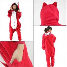 Hot Unisex Adult Pajamas Kigurumi Cosplay Costume Animal Onesi Sleepwear Suit