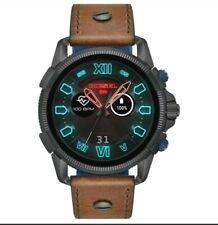 Diesel Men's DZT2009 Full Guard 2.5 48mm Black Dial Leather Smartwatch