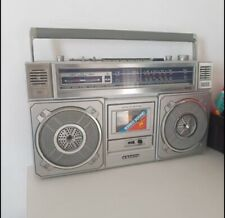Rare Old School Radio Cassette Sanyo Boombox