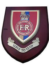 Royal Military Academy Sandhurst Wall Plaque UK Hand Made for MOD