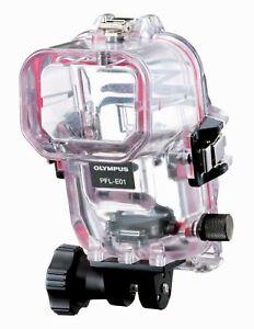 NEW Olympus PFL-E01 Underwater Housing for FL-36 flash, Nikonos compatible