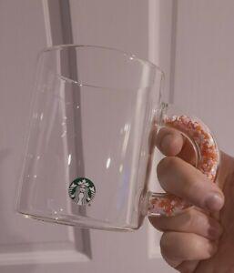 Starbucks Confetti Handle 2020 Valentines 12 oz Glass Mug