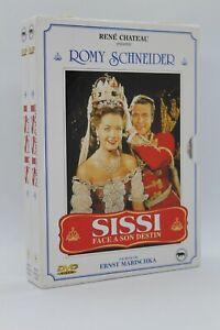 """Coffret 2 dvd """" Sissi face à son destin + Les jeunes années d'une reine """"  Romy"""