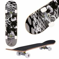 """31"""" X 8"""" Complete Skateboard, 9 Layer Maple Wood Long Board Deck Profession~"""
