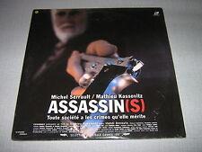 BOF ASSASSIN(S) DOUBLE CD VIDEO MICHEL SERRAULT