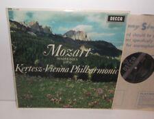 SXL 6056 Mozart Symphonies nos. 33 & 39 Vienna Philharmonic Istvan Kertesz ED1