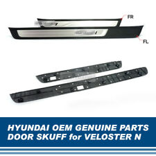 OEM Genuine Parts Front Metal Side Door Scuff 2Pcs for HYUNDAI 2019 Veloster N