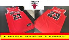 CAMISETA NBA RETRO  CHICAGO  JORDAN  BULLS  N.23  TALLA (S)  ROJA NUEVO MODELO.
