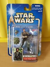 Star Wars Attack of the Clones Figure Endor Rebel Soldier New