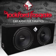 Rockford Fosgate Prime R1-2X12 Dual Gehäusesubwoofer 2x 30cm Bass Subwoofer
