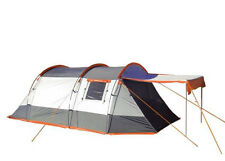 3 Berth Tent Family Camping Weekend/Festivals - OLPRO Knightwick (Grey/Orange)