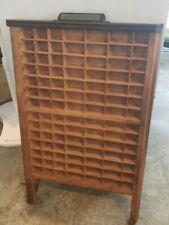 Vintage Hamilton Ludlow Printers Drawer- Tray- Shadow Box, Pair
