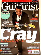 GUITARIST MAGAZINE September 2012 Robert Cray Roland VG Music Man PRS VOX Guild