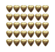110 Chocolate Hearts Gold Foil-Made In Australia With Cadbury Chocolate