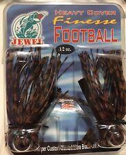 Jewel Bait Heavy Cover Finesse Football Jig 1/2oz 2pk FH-732 PB&J