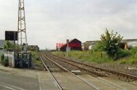 PHOTO  COALVILLE TOWN RAILWAY STATION LEICESTERSHIRE 1988 MR LEIC - BURTON- v2