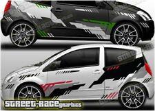 Citroen C2 Rally 010 motorsport racing graphics stickers decals vinyl