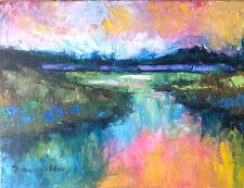 """JOSE TRUJILLO 2013 Impressionist Oil Painting 9"""" X 12"""""""