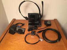 Plantronics Savi W710 Wireless Headset System with HL-10 Lifter, WO2 base