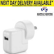 Genuine apple usb wall charger power 12W adapter for iPhone iPad Au Plug a1401