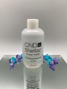 CND Nail Shellac Power Polish Nourishing Gel Remover 8 OZ /236 ML - SEALED