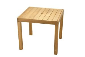 """Grade-A Teak Wood  36"""" Square Dining Table"""