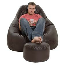 XXXL Bean Bag with footrest , premium quality , without beans. cover only . KK01